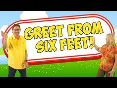 (398) Greet Someone Without Touching | Greet From 6 Feet | Jack Hartmann Social Distancing Song - YouTube