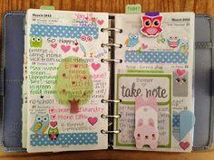 Filo Cuteness: Pink & Green in My kikki.K Time Planner!