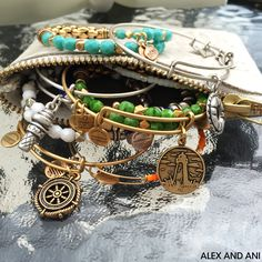 ALEX AND ANI Bangles & Wraps! CHARITY BY DESIGN & Uncharted Voyage Collection!