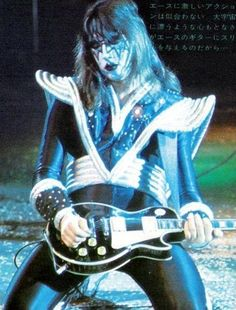 """Paul Daniel """"Ace"""" Frehley (; born April 27, 1951) is an American musician best known as the former lead guitarist and founding member of the rock band Kiss. Description from pixgood.com. I searched for this on bing.com/images"""
