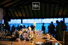 Reception area on the pier.  Generations & El Dorado Riviera Maya All Inclusive Wedding  Resort. Cancun Wedding Photographer. Unique Wedding Ideas. Moments that Matter Photography