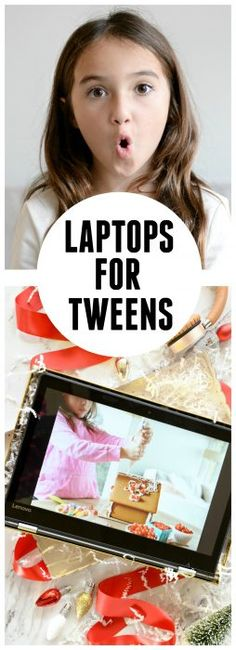 For learning, give your tween the Lenovo Flex 4 1480 with Intel® Core™ i5. Read my blog post to learn more. Sponsored by Intel.
