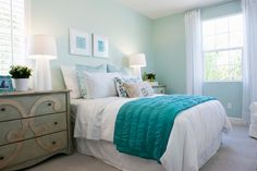 Lugar da cama no quarto perfeito