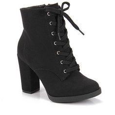 Bota Coturno Feminina Vizzano - Preto - Passarela.com High Heel Boots, Shoes Heels Boots, Heeled Boots, Bootie Boots, Ankle Boots, High Heels, Mode Rock, Cute Heels, Cute Boots