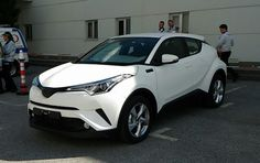 #Toyota C-HR Compact SUV Photographed In The Flesh