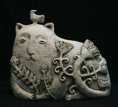 'Grassdreamer' by Ukrainian ceramic sculptor Roman Khalilov. via ЯRAMIL on flickr
