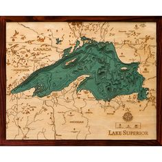 Below the Boat - Lake Superior