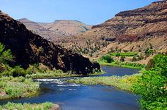 The John Day River east of Kimberly. Grant County Scenic Images [146 images]
