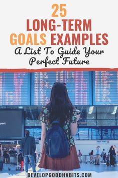 What are long-term goals? How should they be different from other goals in our lives? Why are these goals so important. Answer these questions and see a list of 25 long term goal examples in this goal setting article that will help you plan a better life. Long Term Goals List, Short Term Goals, Life Goals List, Career Goals Examples, Life Quotes Relationships, Work Goals, Term Life, Learning Goals, Thing 1