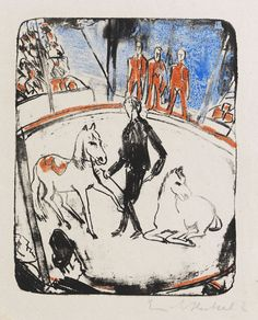 Erich Heckel - Circus