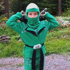 make our own Green Ninjago Costume
