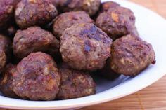 Kalyn's Kitchen®: Baked Swedish Meatballs  [#SouthBeachDiet friendly from Kalyn's Kitchen]