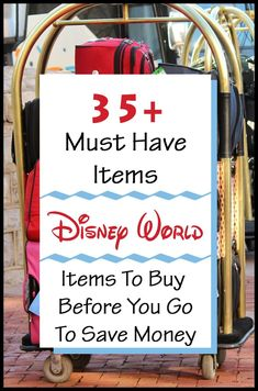 Over 35 items made it on our must have list to pack for Disney World. These items include: Sun Block, Hats, Fans and even water bottles. Dont over pay at Disney when you can buy before you go! |Disney World| |Family Travel| |Disney packing list| |Disney bag| Disney World Tips And Tricks, Disney Tips, Disney Stuff, Disney Vacations, Disney Travel, Disney Money, Disney With A Toddler, Budget Travel, Travel Tips