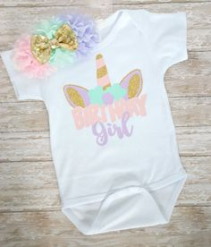 Unicorn Birthday Shirt Unicorn Birthday Outfit Unicorn