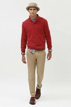 #Men's wear Brooks Brothers Spring-Summer 2014 men lookbook #Moda Hombre