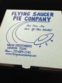 Why #supportsmall and shop local at this popular #bakery? A Houston tradition since 1967, Flying Saucer Pie Company is where locals go to get great pies for their #Thanksgiving table.
