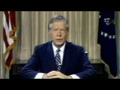 "Speech: Jimmy Carter (1979): ""Crisis of Confidence"". Say what you will about Carter, this speech took guts to deliver. Full transcript can be found: http://www.pbs.org/wgbh/americanexperience/features/primary-resources/carter-crisis/"
