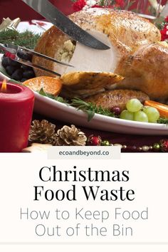 The festive season is a time to enjoy family, friends and food. It's also a time to be sure you're not part of the Christmas food waste problem. Food Out, Love Food, Mince Pies, Leftovers Recipes, Food Waste, Holiday Recipes, Snacks, Meals, Empty
