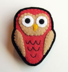 Felt Owl- I like the shape.