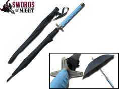 Toshiro Hitsugaya Sword Handle Umbrella  This is the nerdiest thing I've ever seen. And I'm an obsessed fangirl...