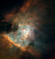 Spectacular photos from space- Center of the Orion Nebula. Found on MSN.com