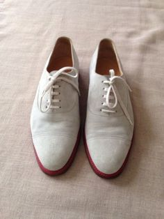 Men's Hermes Suede Oxford Shoes 11