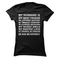My Husband is My Best Friend Perfect T shirt Gift for Wife T-Shirts, Hoodies, Sweatshirts, Tee Shirts (20.99$ ==► Shopping Now!)