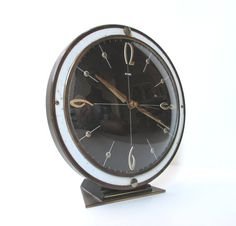Mid Century Modern Clock by TheVintageResource