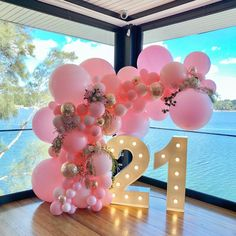 Birthday Decorations 33657 10 Perfect Arcs and Garlands for your Quince Décor 21st Birthday Themes, 21st Bday Ideas, 18th Birthday Party, Girl Birthday, Happy Birthday, 21st Birthday Party Ideas For Girls, Birthday Gifts, 21st Party Decorations, Birthday Balloon Decorations