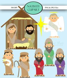 Christmas Nativity Clipart