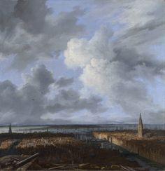 Jacob van Ruisdael - A view of Amsterdam 1665-1670 - Jacob van Ruisdael - Wikipedia