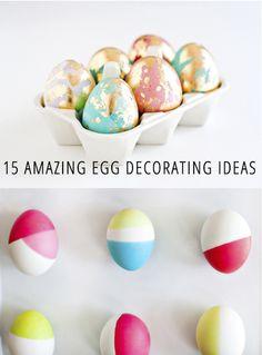 egg decorating ideas.