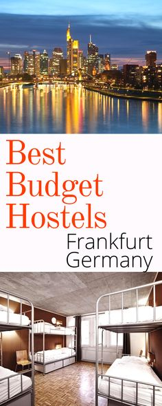 Best Budget Hostels in Frankfurt: Backpacking around Europe is never going to be as cheap as it is in places like Southeast Asia and South America, but finding affordable and comfortable accommodation in Frankfurt isn't an impossible task. Here are the best budget hostels in Frankfurt Germany.