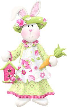 Primavera (Bunnies easter) con abc - Carmen Ortega - Álbuns da web do Picasa Funny Rabbit, Easter Printables, Rabbit Toys, Scrapbook Embellishments, Easter Party, Easter Crafts, Easter Decor, Hare, Scrapbook Cards