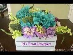 DIY Floral Centerpieces   vintagemeetsglam
