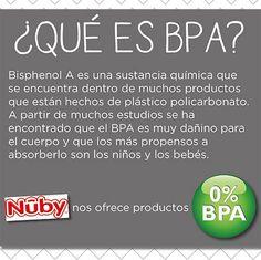 Es básico que sepas que marcas tienen 0% BPA para tu bebé. #mama #cuidado #salud #plastico #nuby #avent #infanti