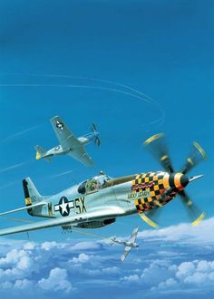 Ww2 Aircraft, Fighter Aircraft, Military Aircraft, Fighter Jets, The Art Of Flight, Airplane Fighter, P51 Mustang, Nose Art, Aviation Art