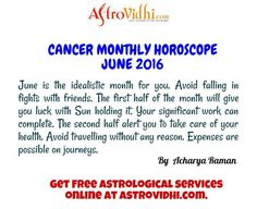 Read your Cancer Monthly horoscope. You can also Check your Cancer Montlhy love, career & business horoscope & relationship compatibility in your Cancer Monthly horoscope. Horoscope Online, Horoscope Relationships, Relationship Compatibility, Astrology Predictions, Hold On, June, English, Reading