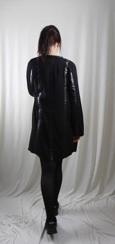 Goth, Kimono, Bomber Jacket, Leather, Jackets, Style, Fashion, Clothing, Woman