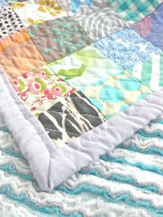 Queen Size Faux Chenille Quilt - Tutorial! - Making Things is Awesome