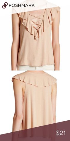 """Flutter sleeve top XS Brand new with tags. Bought at Nordstrom. 22"""" long. 🌷 Nordstrom Tops Blouses"""