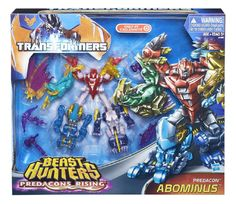 Combiners - Gift Set Only Abominus Combiner 5-pack (Transformers, Prime, Predacon) | Transformerland.com - Collector's Guide Toy Info Transformers Action Figures, Robot Action Figures, Hasbro Transformers, Transformers Prime, Night Shadow, Last Knights, Buy Toys, Toy Store, Beast