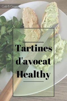 Recette healthy et gourmandes - tartines d'avocat http://www.goldandgreen.fr/2017/01/tartine-lavocat-recette-healthy.html
