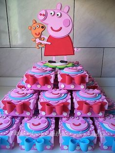 Cute Peppa Pig decoration ideas