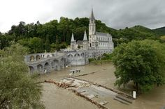Flooding Damages Lourdes, French Holy Site - http://uptotheminutenews.net/2013/06/19/breaking-news/flooding-damages-lourdes-french-holy-site/