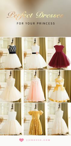 Perfect Dresses For Your Princess! #flowergirldress
