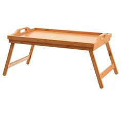 Home-it Bed Tray table with folding legs, and breakfast tray Bamboo bed table and bed tray with legs >>> Visit the image link more details. Breakfast Tray, Bed And Breakfast, Bed Tray Table, Portable Bed, Bamboo Construction, Bohemian Kitchen, Outdoor Storage Sheds, Folding Beds, Bedroom Accessories