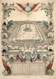 La Fédération faite le 14 juillet 1790,… Almanach pour 1791.