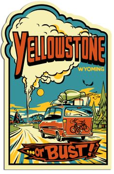 Free sticker and travel guide.  The Wyoming Tourism is offering a FREE Yellowstone or Bust sticker and free travel guide. Just submit your request to recive your free package