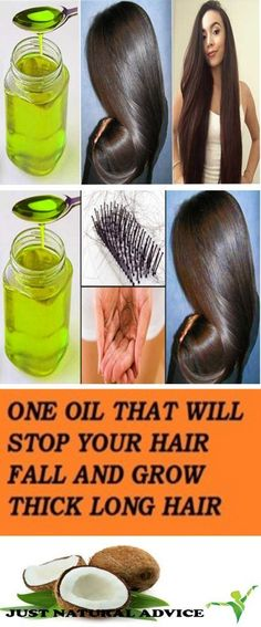 One Oil That Will Stop Your Hair Fall and Grow Thick Long Hair